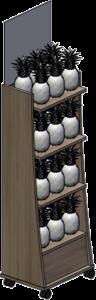 ananas-display-holz